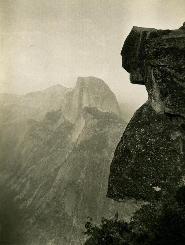 E. O. Hoppé - Half Dome, Yosemite National Park, CA, 1926  | Bruce Silverstein Gallery