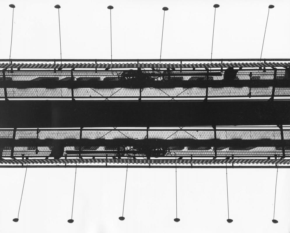 Marvin E. Newman - Untitled (Bridge), 1951    Bruce Silverstein Gallery
