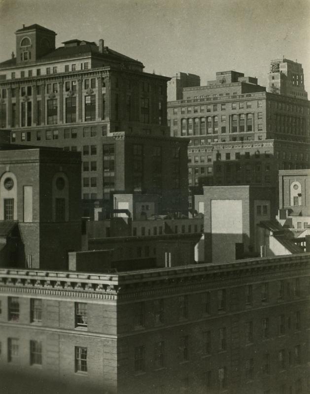 E. O. Hoppé - From the Shelton Hotel, 1921  | Bruce Silverstein Gallery