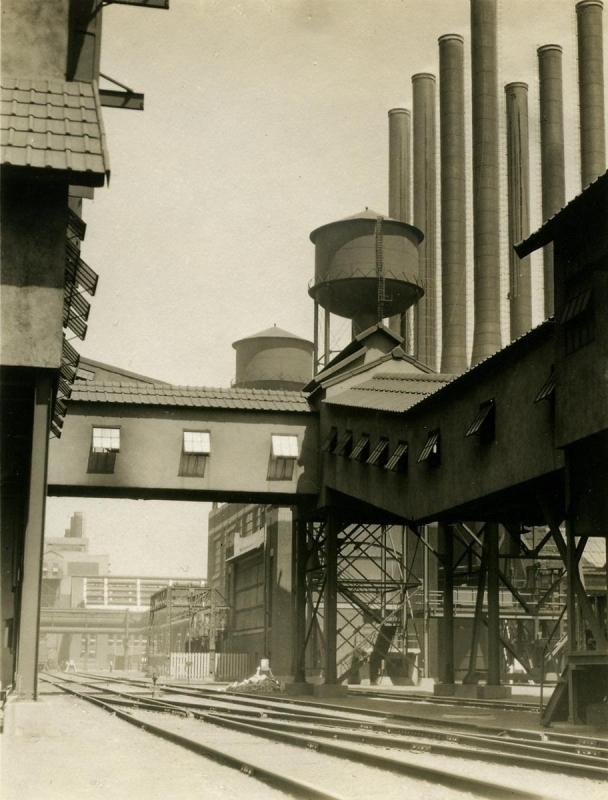 E. O. Hoppé - Ford Factory, Detroit, MI, 1926  | Bruce Silverstein Gallery