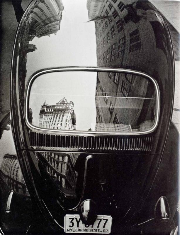 Frank Paulin - Volkswagen, 1962 Gelatin silver print | Bruce Silverstein Gallery