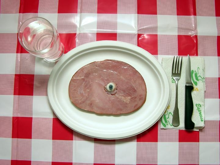 Grubstein, MarcDinner with Magritte, 2005 Chromogenic print 31 x 41 inches