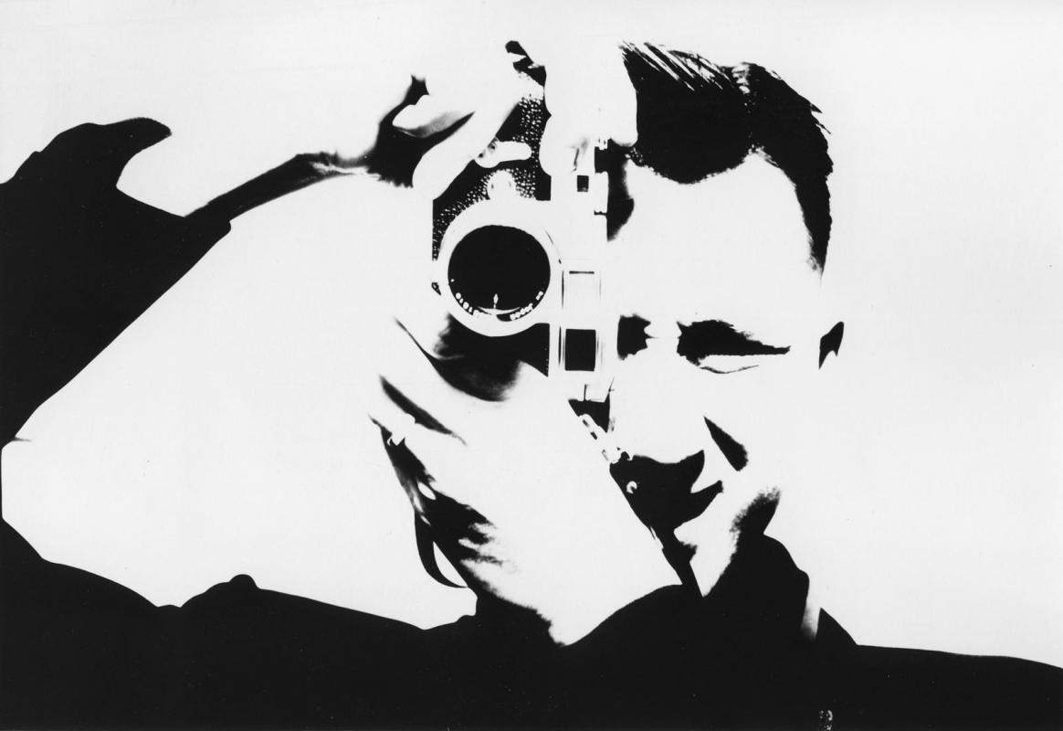 Marvin E. Newman - Untitled (Self-portrait), 1956   Bruce Silverstein Gallery