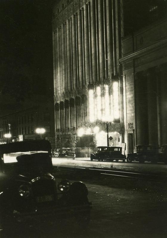 E. O. Hoppé - Hollywood at Night, 1926  | Bruce Silverstein Gallery