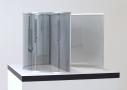 dan graham - perforated steel triangular
