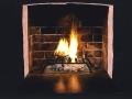 Toba Khedoori, Untitled (Black fireplace) detail