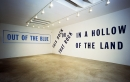 Lawrence Weiner, OUT OF THE BLUE