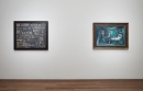 Installation view with Torres-Garcia and Picasso
