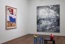 Installation view with Wesselmann, Rosenquist, Miró