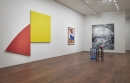 Installation view with Kelly, Wesselmann, Rosenquist, Miro