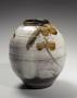 Tamura Koichi, Japanese glazed stoneware, Japanese iron-glaze, Japanese vase, ca. 1970