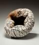 Futamura Yoshimi, Vasque, 2010, stoneware and porcelain, Japanese ceramics, Japanese pottery, Japanese porcelain, Japanese sculpture, Japanese female artist, female ceramist