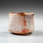 Kato, Yasukage, Kato Yasukage, shino, glaze, ceramic, teabowl, 2011, glazed, stoneware, contemporary, chawan, pottery, clay, tea, bowl, japan, japanese, art, japanese ceramics, tradition, mirviss, gallery, nyc