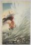 Kobayashi Kiyochika, (1847-1915), Battleship Seikyomaru in Sino-Japan war, 1894, Oban tate-e triptych, Japanese ukiyoe, Japanese ukiyo-e, Japanese woodblock print, Japanese hanga, Japanese meiji print