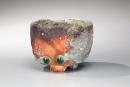 Fujioka Shuhei, Iga natural ash-glazed, teabowl, stoneware with ash glaze, 2012, Japanese teabowl, Japanese clay, Japanese ceramics, Japanese pottery, Japanese contemporary ceramics, Iga ware