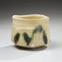 Kato, Yasukage, Kato Yasukage, Japanese, ceramics, contemporary, kiseto, yellow seto, seto, yellow, green, teabowl, chawan, glazed, glazed stoneware, stoneware, 2011