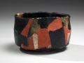 Wada Morihiro, Japanese teabowl, Japanese glazed stoneware, Japanese Tea Bowl, ca. 1996
