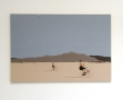 Burning Man Kota Ezawa, Christopher Grimes Gallery