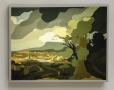 Landscape with Obelisk, Kota Ezawa, Christopher Grimes Gallery