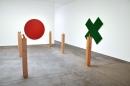 Olivier Mosset, Thom Merrick, Christopher Grimes Gallery