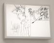 Program for an Artistic Soiree I, Kota Ezawa, Christopher Grimes Gallery