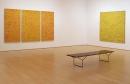 Shirley Goldfarb yellow confetti painting