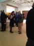 Frank stella gallery opening