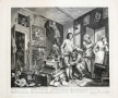 William Hogarth (1697-1764)  A Rake's Progress, 1735  Complete set of eight etchings and engravings on laid paper