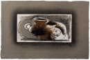 Georges Braque, Théière sur fond gris; Teapot on a Gray Background, 1946-47
