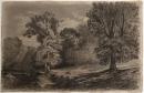 Gustav Courbet, Paysage à la Clairière