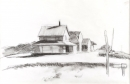 Edward Hopper, House and Road, ca. 1940-5