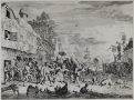 Cornelis Dusart, The Large Village Fair, 1685