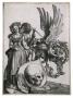 Albrecht Dürer, Coat of Arms with a Skull