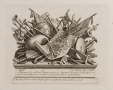 William Hogarth (1697-1764)  A Stand of Arms, Musical Instruments, etc., 1750  Etching and engraving on laid paper