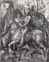 Albrecht Dürer, Knight, Death, and the Devil