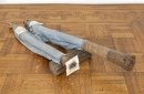 "Huang Yong Ping, ""Untitled"", 1995-97, mixed media, 60 x 36 x 12 inches."