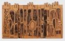 Noah Purifoy Black, Brown and Beige (After Duke Ellington), 1989