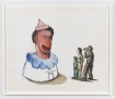 """Nicole Eisenman """"Untitled"""", 1998  Oil on paper  45 x 54-1/2 inches"""