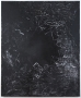 """Brenna Youngblood """"Measure of a Man (Black Star)"""", 2014 Mixed media on canvas 72-1/2 x 60-1/2 x 1-1/2 inches"""