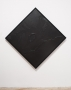 Rashid Johnson  Cosmic Slop, 2008  Black soap and microcrystalline wax on board  70 x 70 inches