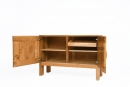 Maison Regain's sideboard, view of cabinet doors showing drawers