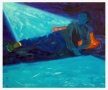 DOMINIC CHAMBERS Meditation in Blue (Malia is by the water), 2020