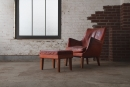 ARNE VODDER (Danish, 1926 - 2009), Lounge Chair and Ottoman, Denmark, 1953