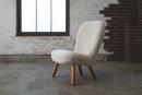 "PHILIP ARCTANDER (Danish, 1916-1994), ""Mussel"" Lounge Chair, ca. 1940"