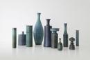 STIG LINDBERG (Swedish, 1916-1982), Collection of Studio Vases, Gustavsberg, Sweden, ca. 1960