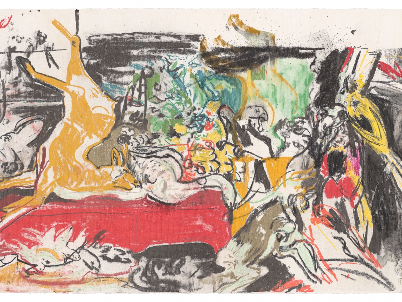 Cecily Brown: The Calls of the Hunting Horn