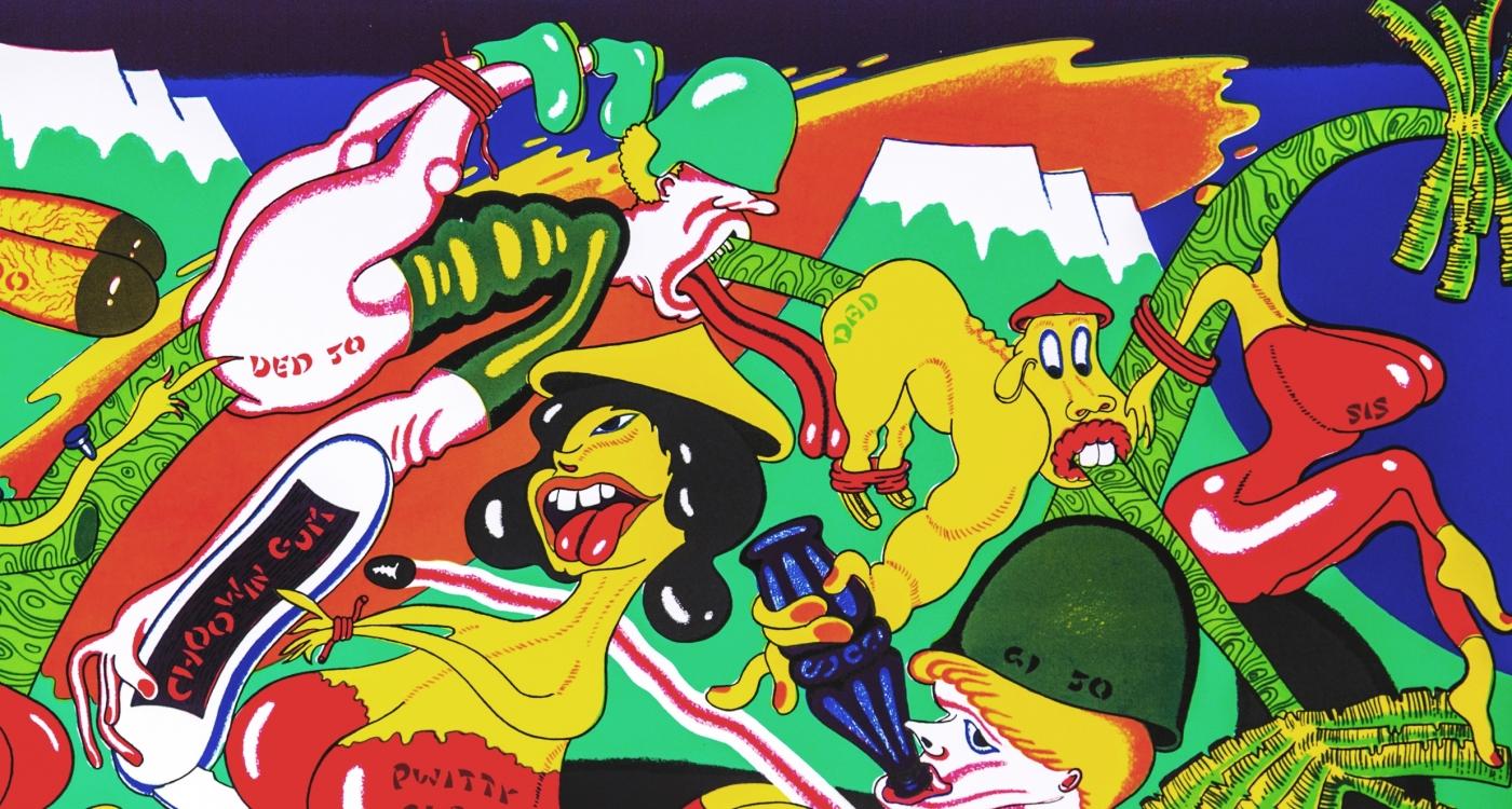 Peter Saul: Prints (1968-1975)