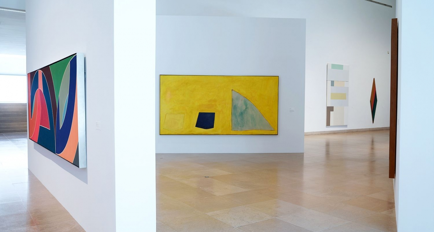 Frances Barth: Paintings from the 1970's