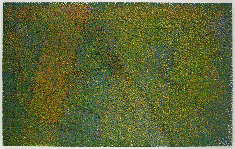 June, 1984-1988, Oil on canvas, 50 x 80 inches, AF10649