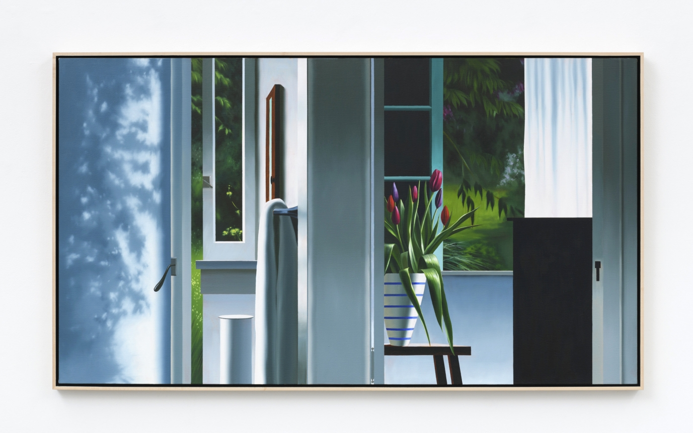 Bruce Cohen, Interior with Two Rooms, 2019